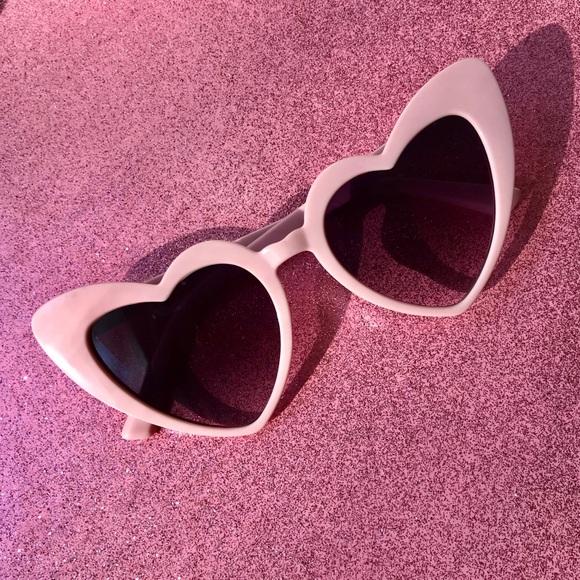 db4735b6307 Brand New Beautiful Pink Heart Sunglasses 💕. M 5bde190274359b7ae5085c58.  Other Accessories ...